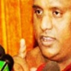 ராவண பலயவின் தலைவர், சத்ததிஸ்ஸ தேரர்.