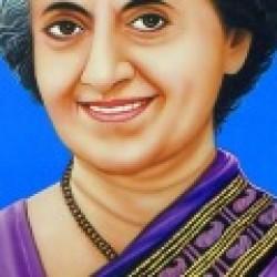 இரும்பு பெண்மணி இந்திரா காந்தி.